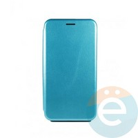 Чехол книжка боковой Fashion Case для Samsung Galaxy A71 синий