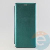 Чехол книжка боковой Fashion Case для Samsung Galaxy A71 зелёный