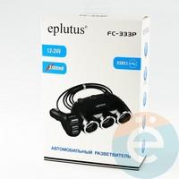 Автомобильное зарядное устройство разветвитель Eplutus FC-333