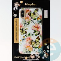 Накладка Kingxbar Crystals from Swarovski для Apple IPhone X/Xs No.15737