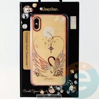Накладка Kingxbar Crystals from Swarovski для Apple IPhone X/Xs No.15739