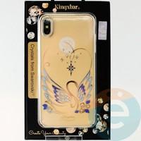 Накладка Kingxbar Crystals from Swarovski для Apple IPhone XS Max No.15748