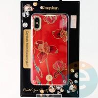 Накладка Kingxbar Crystals from Swarovski для Apple IPhone X/Xs No.15752