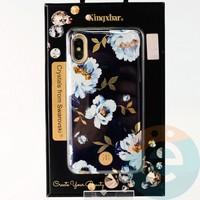Накладка Kingxbar Crystals from Swarovski для Apple IPhone X/Xs No.15753