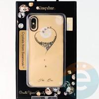 Накладка Kingxbar Crystals from Swarovski для Apple IPhone X/Xs No.15756