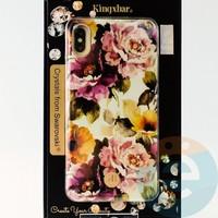 Накладка Kingxbar Crystals from Swarovski для Apple IPhone XS Max No.15757