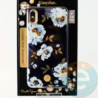 Накладка Kingxbar Crystals from Swarovski для Apple IPhone XS Max No.15758