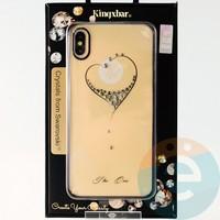 Накладка Kingxbar Crystals from Swarovski для Apple IPhone XS Max No.15765