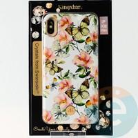 Накладка Kingxbar Crystals from Swarovski для Apple IPhone XS Max No.15776