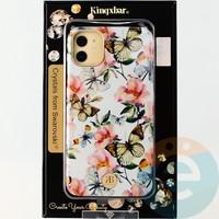 Накладка Kingxbar Crystals from Swarovski для Apple IPhone 11 No.15780
