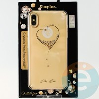Накладка Kingxbar Crystals from Swarovski для Apple IPhone XS Max No.15785