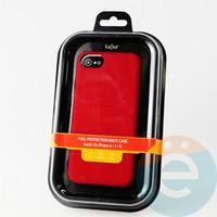 Накладка Kajsa для Apple IPhone 6/7/8 холст красный