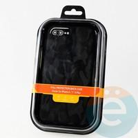 Накладка Kajsa для Apple IPhone 6/7/8+ камуфляж чёрный