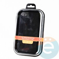 Накладка Kajsa для Apple IPhone 6/7/8+ холст чёрный