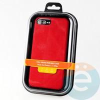 Накладка Kajsa для Apple IPhone 6/7/8+ холст красный