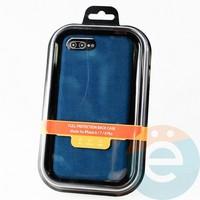 Накладка Kajsa для Apple IPhone 6/7/8+ холст синий