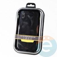 Накладка Kajsa для Apple IPhone Xs Max холст чёрный