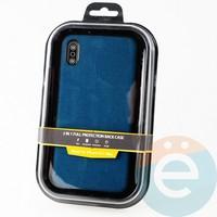 Накладка Kajsa для Apple IPhone Xs Max холст синий