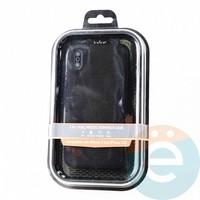 Накладка Kajsa для Apple IPhone X/Xs холст чёрный