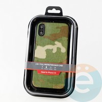 Накладка Kajsa для Apple IPhone XR камуфляж пустыня