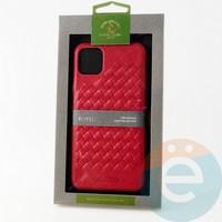Накладка Santa Barbara Ravel для IPhone 11 Pro Max красная