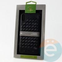 Накладка Santa Barbara Ravel для IPhone XS Max чёрная