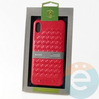 Накладка Santa Barbara Ravel для IPhone XS Max красная
