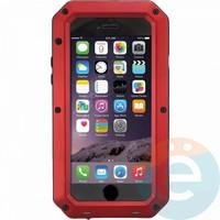 Противоударный чехол Lunatik на iPhone 6/6s Plus красный