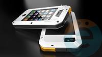 Противоударный чехол Lunatik на iPhone 6/6s Plus белый
