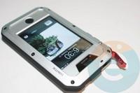 Противоударный чехол Lunatik на iPhone 6/6s серебристый