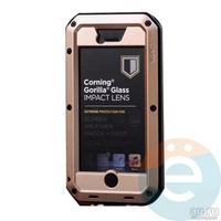 Противоударный чехол Lunatik на iPhone 6/6s бронзовый