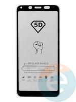 Защитное стекло 5D с полной проклейкой на Xiaomi Redmi 6/6A чёрное