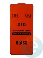 Защитное стекло 5D с полной проклейкой на Xiaomi Mi Mix 3 черное