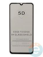 Защитное стекло 5D с полной проклейкой на Xiaomi Mi 9 SE чёрное