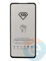 Защитное стекло 5D с полной проклейкой на Xiaomi Mi 9T черное