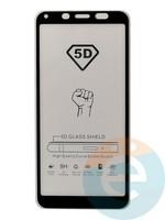 Защитное стекло 5D с полной проклейкой на Xiaomi Redmi 7A черное