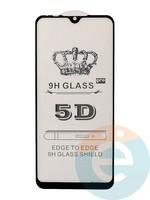 Защитное стекло 5D с полной проклейкой на Xiaomi Mi A3 черное