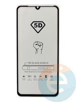 Защитное стекло 5D с полной проклейкой на Xiaomi Mi 9 Lite черное