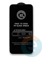 Защитное стекло 6D с полной проклейкой на Huawei Y5 (2018)/Honor 7A черное