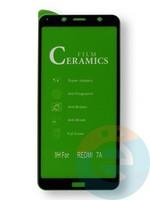 Защитное стекло Ceramics (в упаковке) для Xiaomi Redmi 7A черное