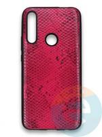 Накладка силиконовая Pitone для Huawei P Smart Z/Y9 Prime/Honor 9X малиновая
