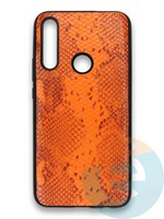 Накладка силиконовая Pitone для Huawei P Smart Z/Y9 Prime/Honor 9X оранжевая