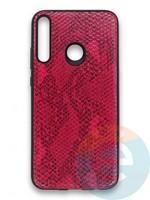 Накладка силиконовая Pitone для Huawei Y7P 2020 малиновая