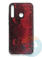 Накладка силиконовая Pitone для Huawei Y7P 2020 бордовая