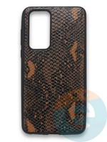 Накладка силиконовая Pitone для Huawei P40 коричневая