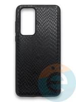 Накладка силиконовая Pitone для Huawei P40 черная