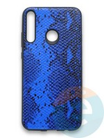 Накладка силиконовая Pitone для Huawei Y7P 2020 синяя