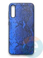 Накладка силиконовая Pitone для Samsung Galaxy A50 синяя