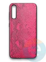 Накладка силиконовая Pitone для Samsung Galaxy A50 малиновая