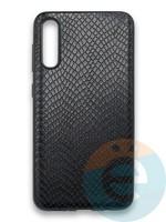 Накладка силиконовая Pitone для Samsung Galaxy A50 черная